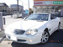M・ベンツSL350 電動オープン 黒革シート メモリーナビTV