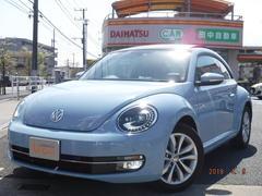 VW ザ・ビートルデザインレザーPKG サンルーフ 純正ナビTV Bモニター