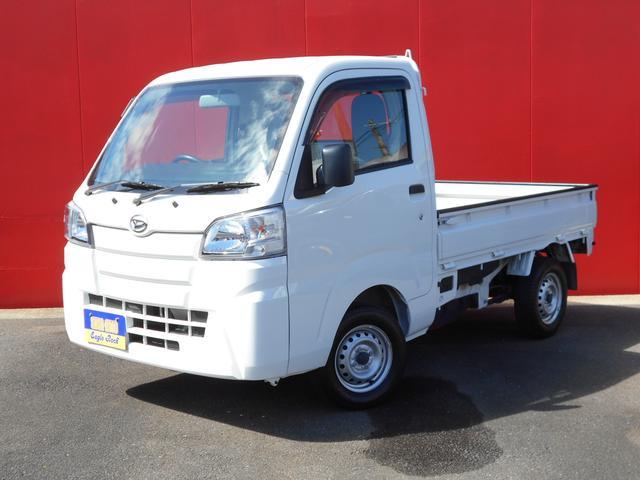 ハイゼットトラック スタンダード 保証付 4WD 5速MT エアコン パワステ 三方開 純正ラジオ 運転席エアバッグ