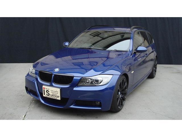 BMW 320iツーリング Mスポーツパッケージ フルセグナビTV バックカメラ 18アルミ アイバッハ車高調 キセノン スマートキー ETC 保証書 取説
