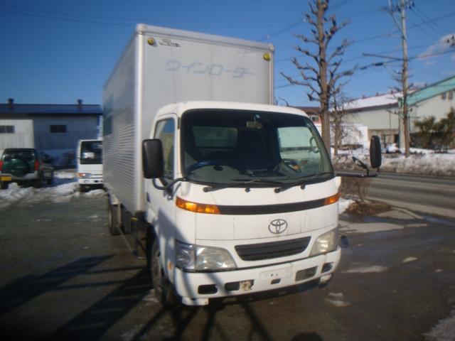 トヨタ 日本フルルーフ上物 アルミバン ETC