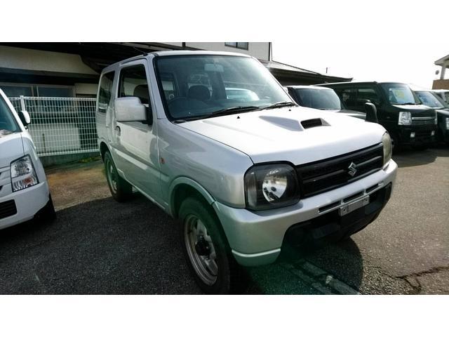 スズキ XG 4WD ターボ CDオーディオ パワーウィンドウ