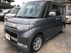 タントカスタム 軽自動車 プラチナグレーメタリック CVT AC