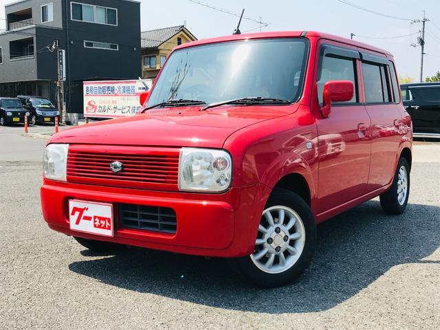 スズキ アルトラパン X 軽自動車 4WD ブライトレッド2 A...