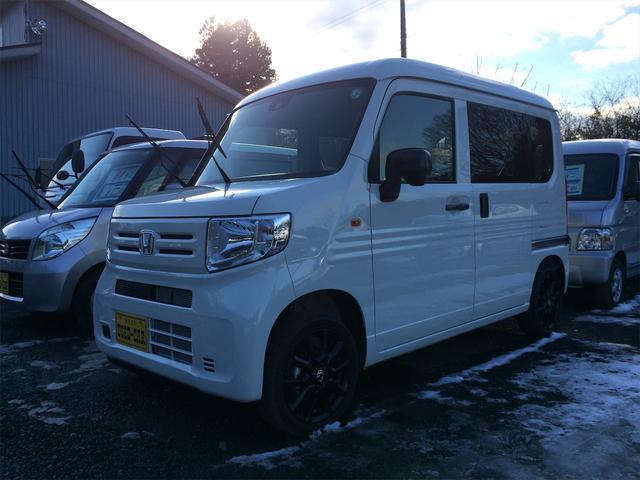 ホンダ N-VAN G・ホンダセンシング 4WD AC AM/FMチューナー