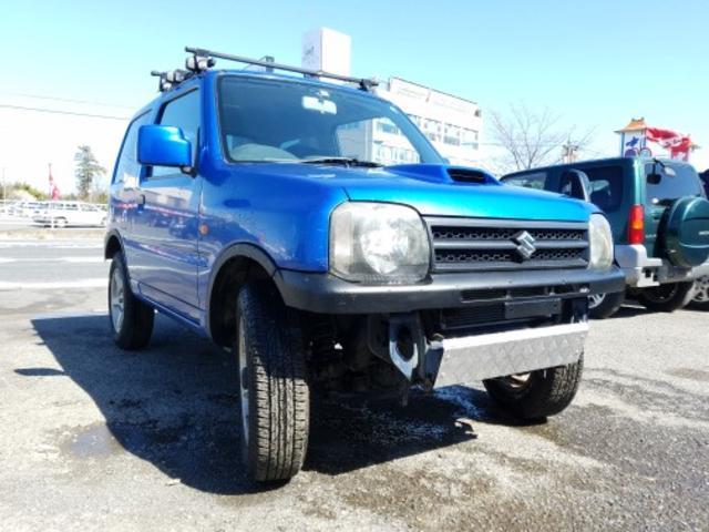 スズキ ジムニー XG 4AT 4WD ナビ ETC バンパーカット アルミ