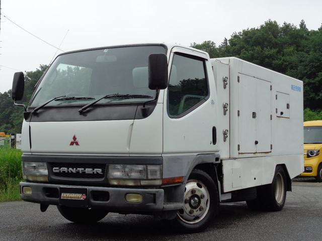 三菱ふそう 高圧洗浄車 マルナカ 300kgf Wポンプ SSD3070