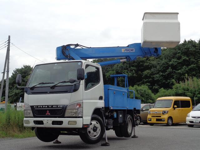 三菱ふそう 高所作業車 アイチ製 SS10A 9.7m FRPバケット