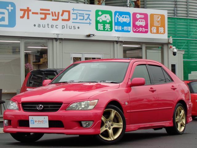 トヨタ アルテッツァ RS200 Zエディション サンルーフ 純正17インチAW