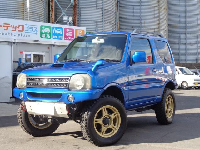スズキ ジムニー XC リフトUP 社外アルミ 社外マフラー 社外ブースト計 社外水温計 パートタイム式4WD