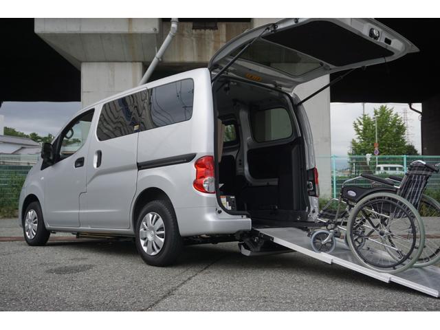 日産 アンシャンテ 車椅子2脚仕様 福祉車輌 スロープ 電動ウィンチ