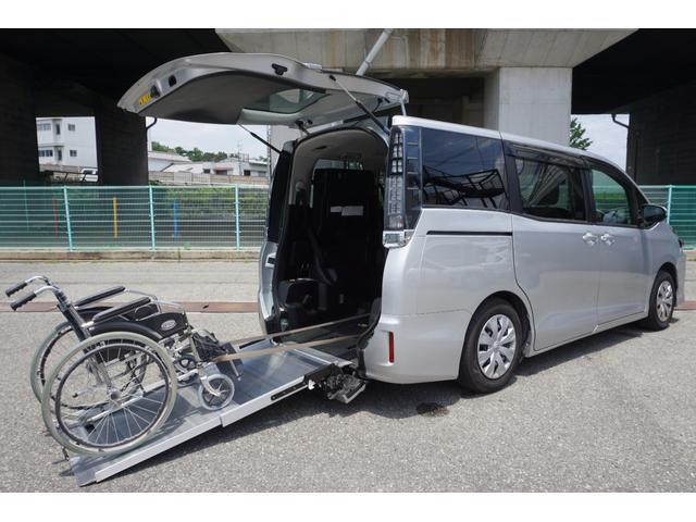 トヨタ X ウェルキャブ スロープタイプII サードシート付 パワースライドドア サードシート付 ナビ