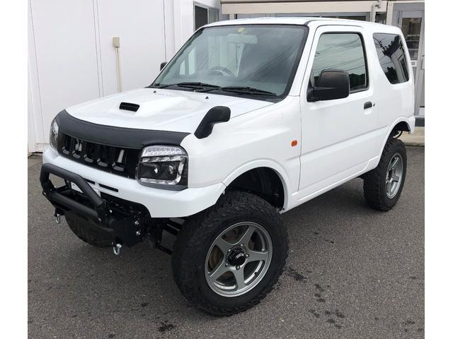 スズキ 4WD リフトアップ ステンヒッチメンバー LED Wマフラ