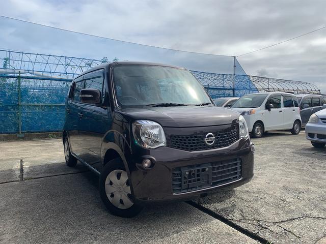 日産 モコ X FOUR 4WD 純正オーディオ バックカメラ ETC プッシュスタート