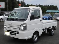 ミニキャブトラックM 4WD 5MT フロアマット付 届出済未使用車