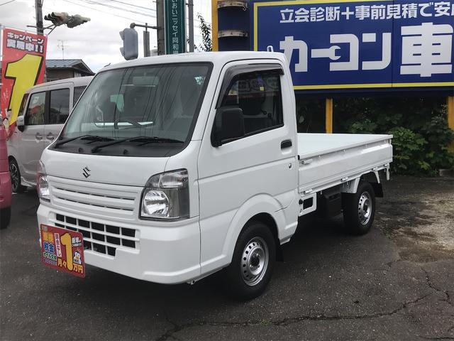 スズキ KCエアコン・パワステ 4WD 5速マニュアル 届出済未使用車 最大積載量350kg