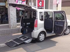 ワゴンR車いす移動車 リヤシート無 電動固定式 ワンオーナー 禁煙車