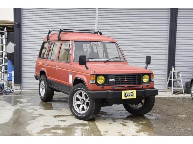 三菱 パジェロ XL XL 4WD ガソリン ターボ マニュアル