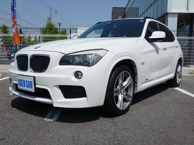 BMW X1 sDrive 18iMスポーツPKG・カロ地デジナビ・ETC