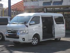 ハイエースワゴン4WD VIPファミリー改2nd 4列シート全席張替ベット付