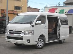ハイエースワゴン4WD VIPファミリーVer2 4列補助席2名シート張替