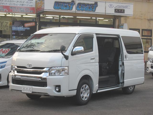 トヨタ ファインテックツアラー4WDビジネス送迎10人乗両側電動ドア
