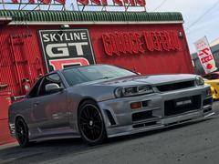 スカイライン25GTターボ GT−Rフェイス NISMOダウンサス