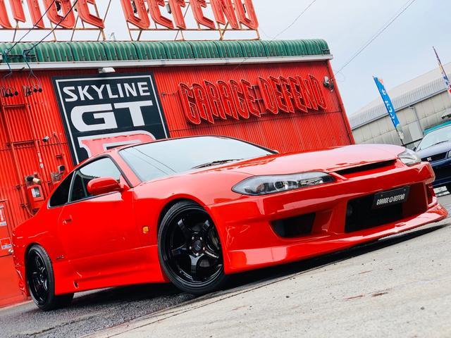 日産 スペックR GPスポーツエアロ HKSマフラー クスコ車高調