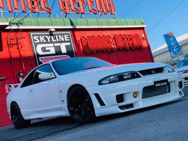 GT-R Vスペック ニスモバンパー&オイルクーラー 車高調