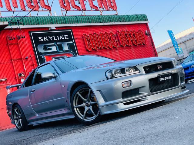 日産 スカイライン GT-R ・NISNOサイドステップ&リアアンダー・フロントリップ・TRUSTマフラー・社外フロントパイプ・パワーFC&FCコマンダー