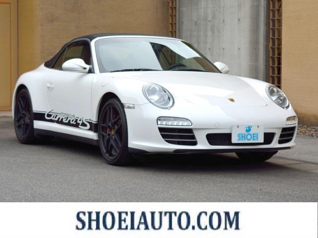 ポルシェ 911カレラ4S カブリオレ スポーツクロノパッケージ ワイドボディ シートヒーター 19インチSIIホイール