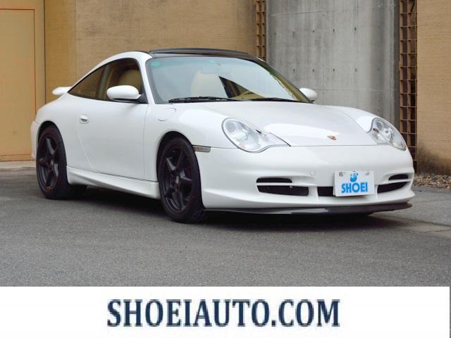 ポルシェ 911タルガ サンドベージュインテリア カーボンインテリア GT3VER フロント サイド リヤ SDナビゲーション 地デジ カレラ18インチホイール