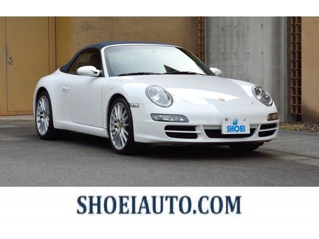 ポルシェ 911カレラS カブリオレ 19インチスポーツデザイン シートヒーター 幌メトロポールブルー オーシャンブルーレザースポーツクロノパッケージ HDD バックカメラ 地デジ  PASM