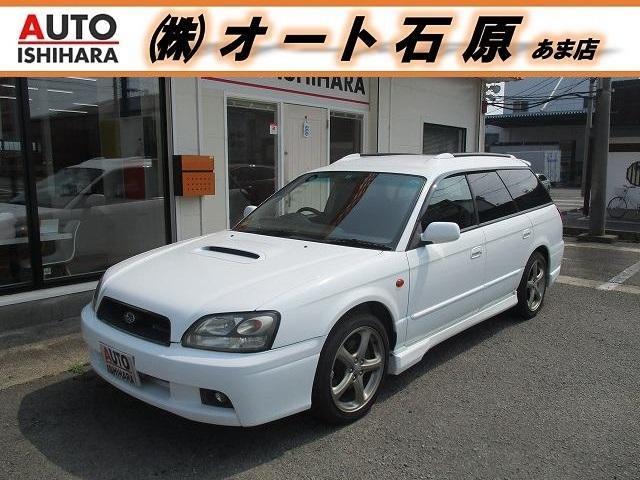 スバル GT-B E-tuneII  後期 純正ナビ 柿本マフラー