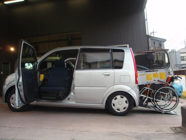 ダイハツ スローパーSL 車いす移動車 助手席回転スライドシート