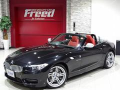 BMW Z4 sDrive35is 禁煙車 OP19AW 赤レザーシート