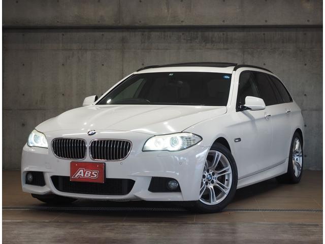 BMW BMW 528iツーリング MスポーツPKG 1オナ黒革サンルーフ