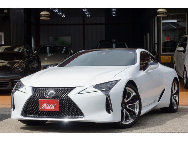 レクサス LC500 Sパッケージ マクレビ ヘッドアップD 新車保証