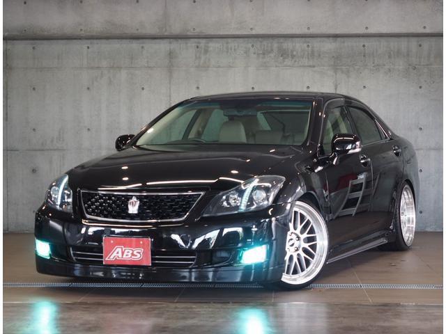 沖縄の中古車 トヨタ クラウン 車両価格 114万円 リ済込 2008(平成20)年 13.5万km ブラックM