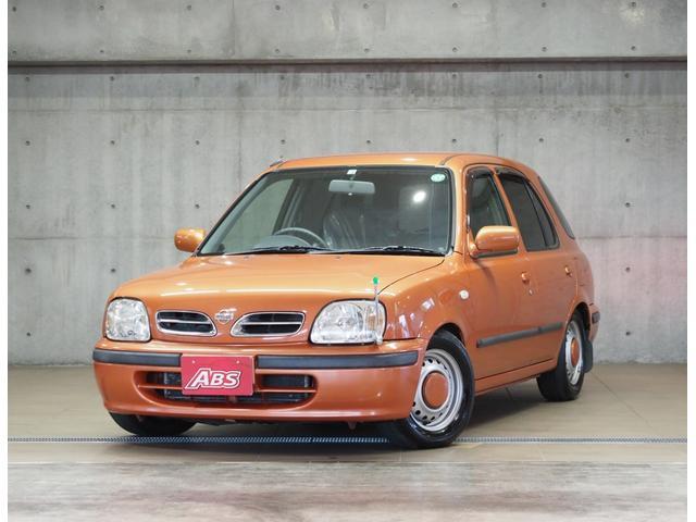 沖縄の中古車 日産 マーチBOX 車両価格 78万円 リ済別 2000(平成12)年 7.9万km オレンジ
