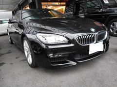 BMW640iグランクーペ Mスポーツパッケージ ナビ 黒革シート