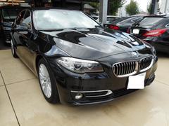 BMW523dラグジュアリー コンビニエンスpkg レザーシート
