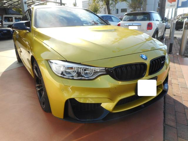 BMW M4クーペ OP19インチAW 純正ナビ