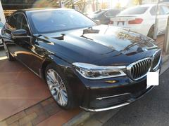 BMW740Li サンルーフ 純正AW リアエンターテイメント