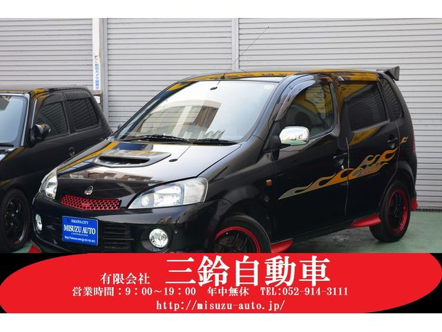 ダイハツ ターボ 4WD ABS エアロスタイル デカールライン