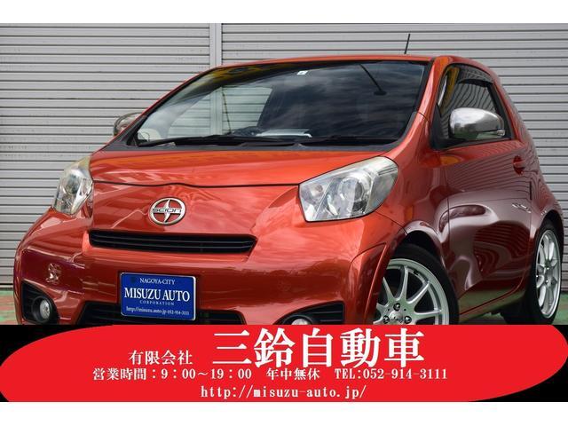トヨタ iQ 130G MTレザーパッケージ 6速マニュアル レザーパッケージ ナビ TV 社外AW