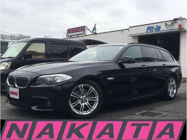 BMW 528iツーリング Mスポーツパッケージ 純正HDDフルセグ