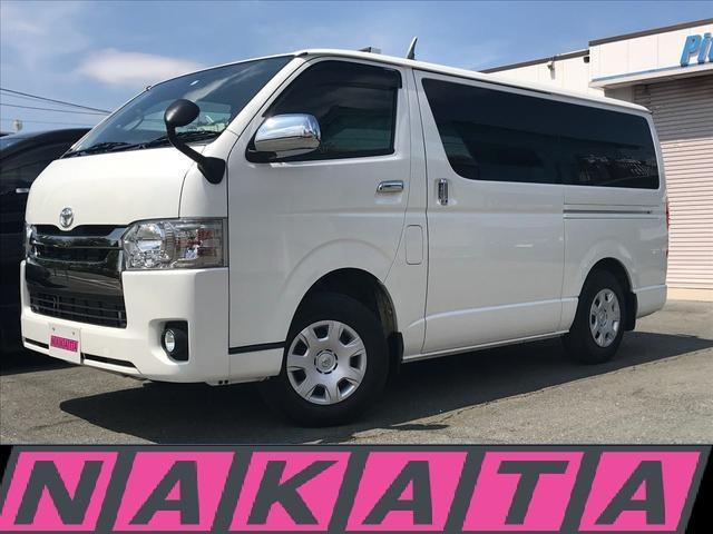 トヨタ ロングスーパーGL 4WD ダークプライム 純正ナビTV