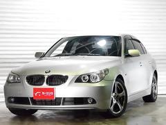 BMW545i 黒革 サンルーフ ナビ HIDヘッド 右ハンドル