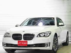BMW750i コネクトドライブ Pトランク 黒革 サンルーフ
